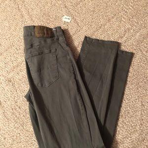 American Eagle Flex Slim Green Jeans 29 x 32 2663